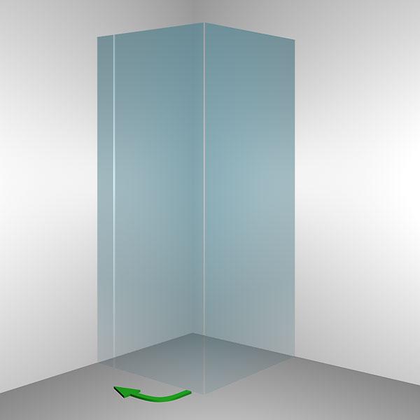 glasduschen serien leben wohnen mit glas glasart. Black Bedroom Furniture Sets. Home Design Ideas